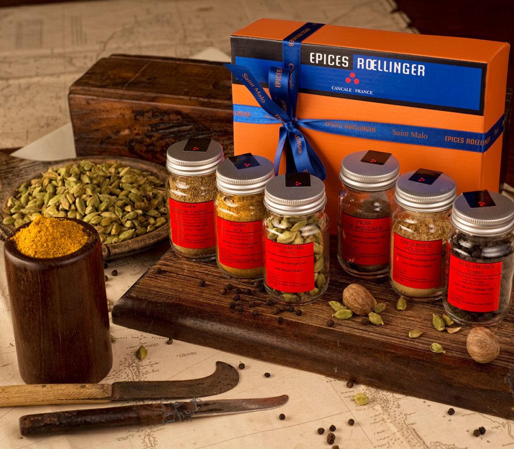 les poudres d pices olivier roellinger pour les amoureux de la cuisine. Black Bedroom Furniture Sets. Home Design Ideas