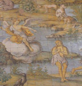 pavage eglise san michele anacapri