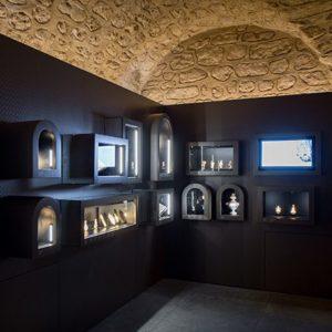 salle des flacons antiquité