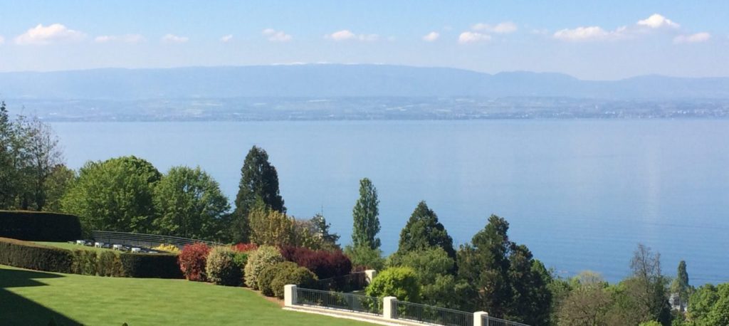 vue-hotel royal-evian