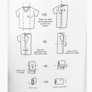 basic folding method rangement marie kondo