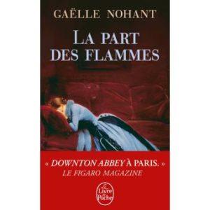 livre été La-part-des-flammes gaelle Nohant