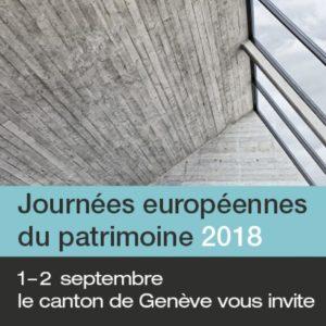 journées européènnes du patrimoine activités geneve