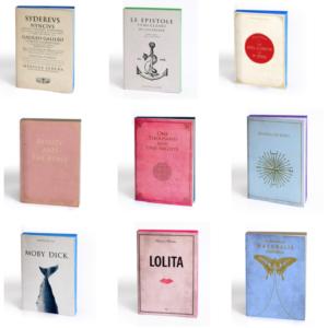 notebook libri muti idée cadeau chic et durable