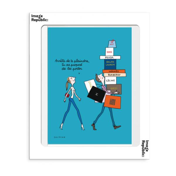 Affiche Soledad arrete de te plaindre le colibry concept store geneve online