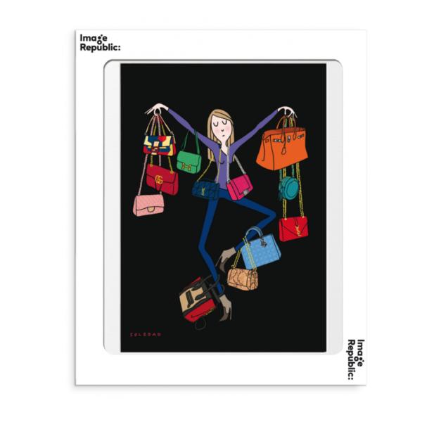 Affiche Soledad bags le colibry concept store geneve online