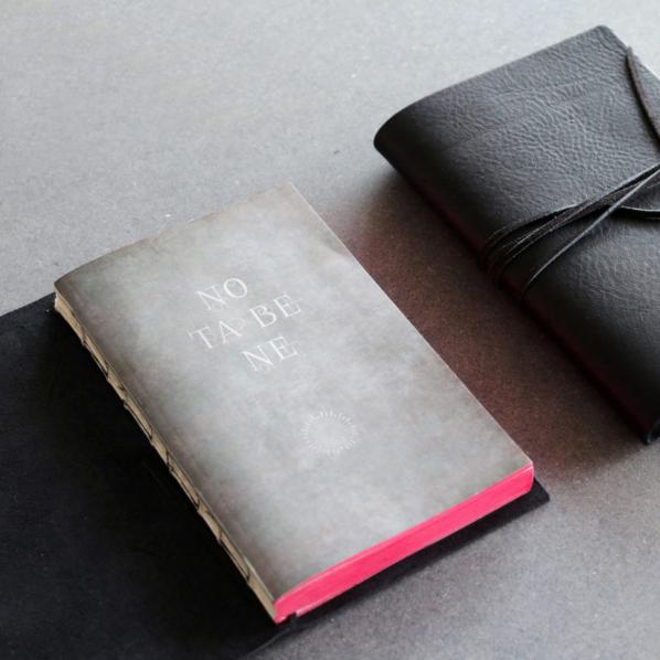 notebook libri muti cuir slow design le colibry concept store geneve online