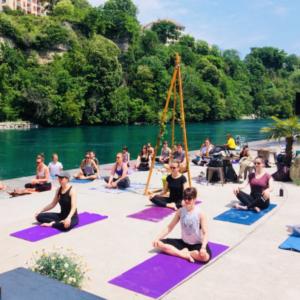 yoga activité geneve été blog lifestyle