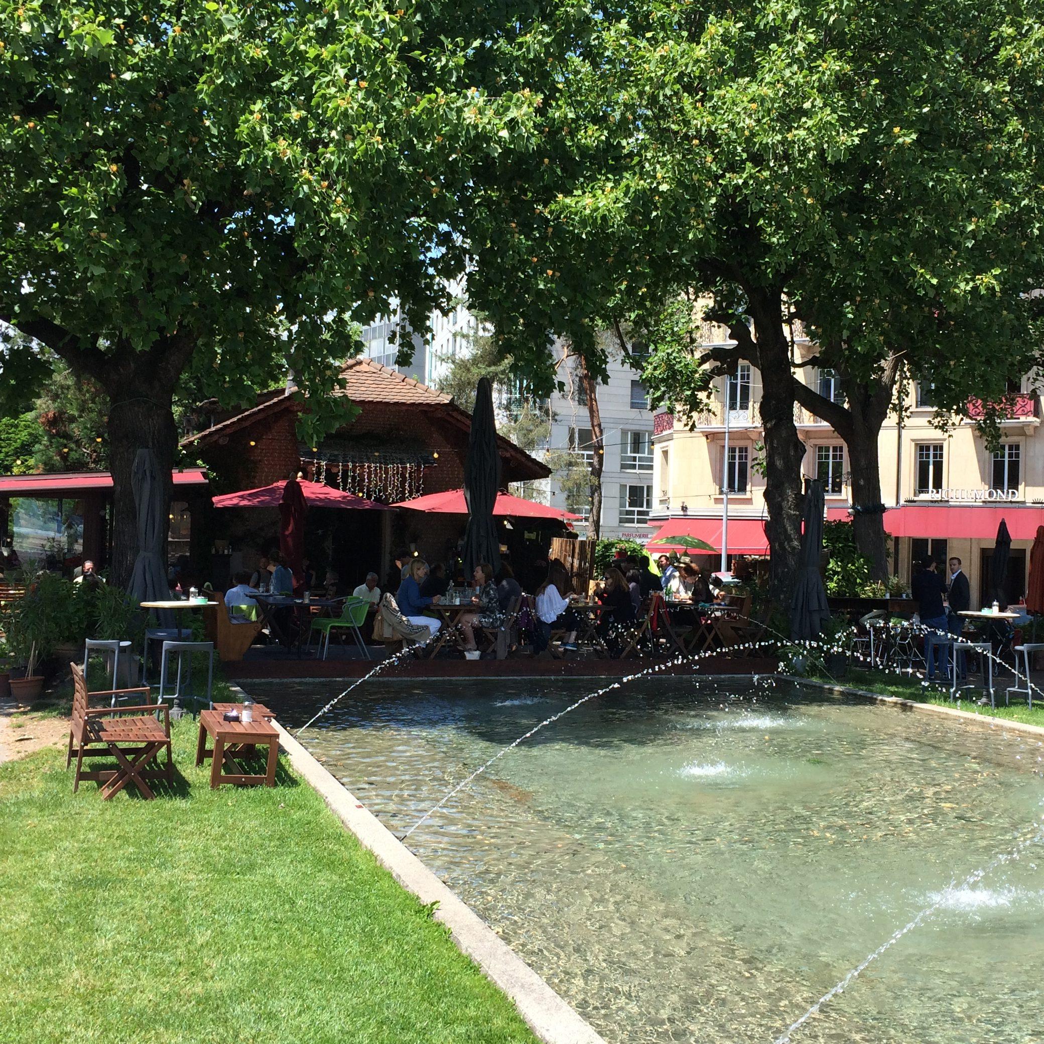 Déjeuner Ou Diner En Terrasse à Genève Adresses Secrètes Et