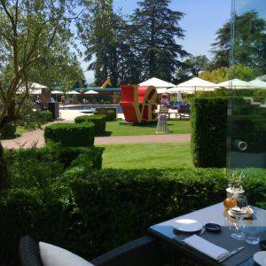 lodge d'ete la reserve dejeuner terrasse geneve blog