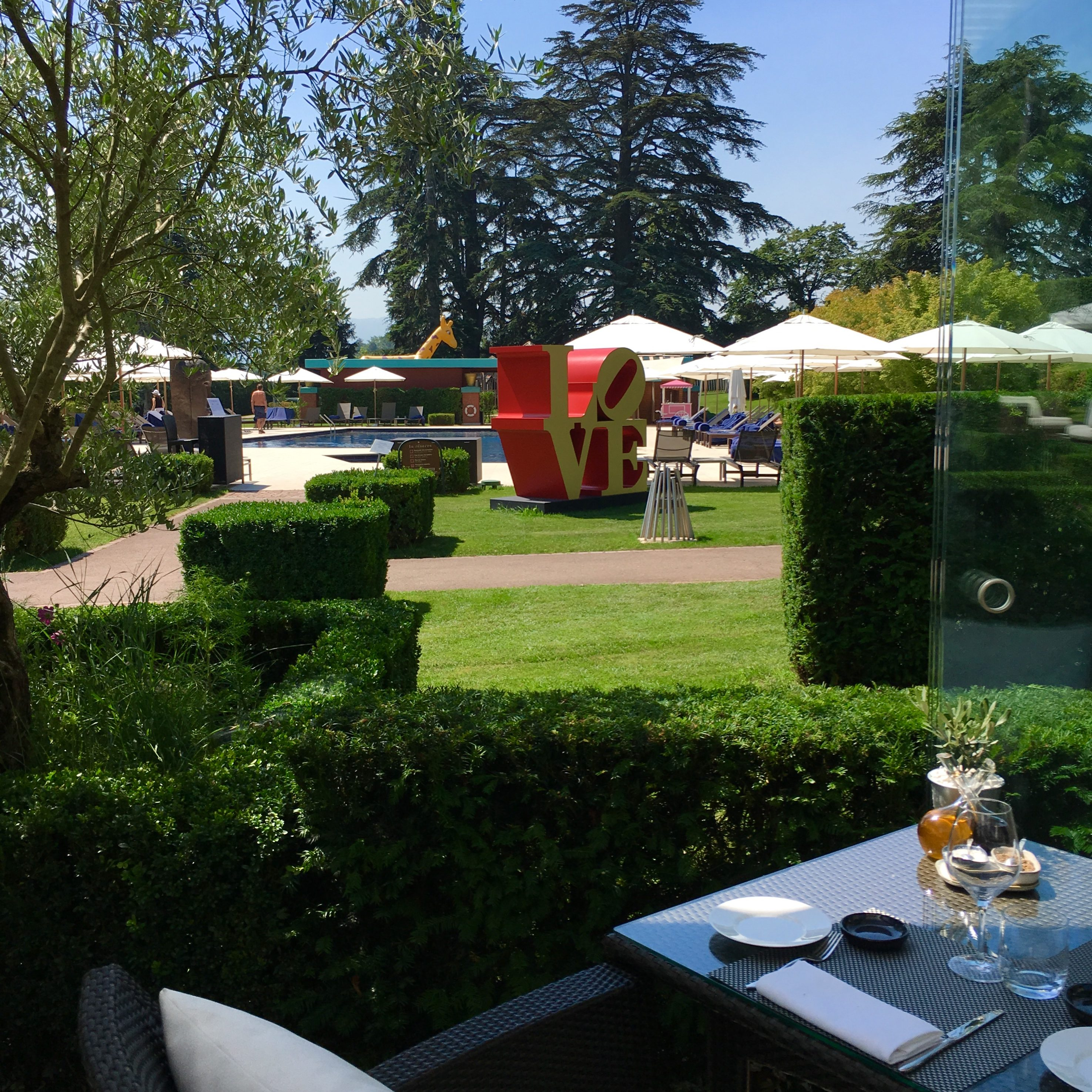Terrace And Patio Eating In Geneva Great Views And Even