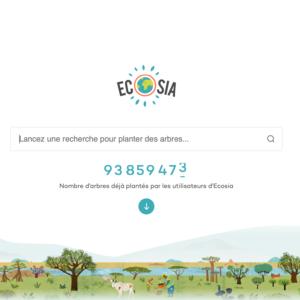 ecosia eco-geste le colibry blog lifestyle paris geneve