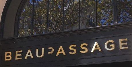 beaupassage restaurant paris