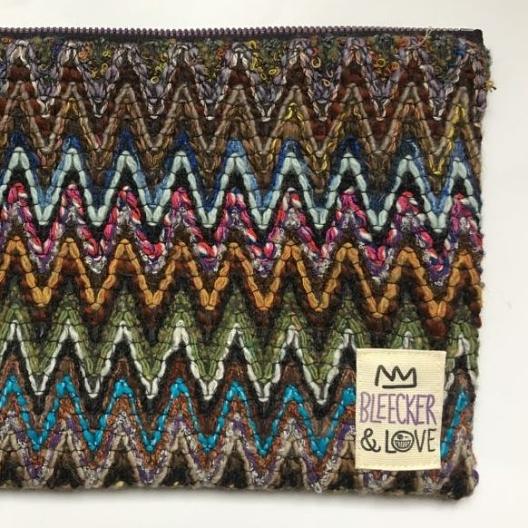 woven chevron pochette bleecker & Love geneve concept store Le Colibry