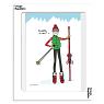 Affiche Soledad ski le colibry concept store geneve online
