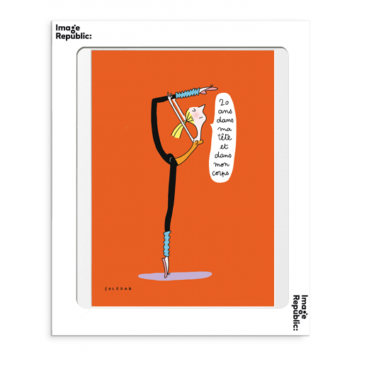 Affiche Soledad vingt ans le colibry concept store geneve online