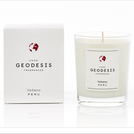 Bougie geodesis verveine le colibry concept store geneve online