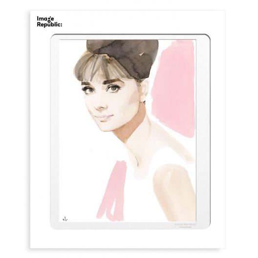 Illustration Audrey Hepburn Marc-Antoine Coulon Image Republic le Colibry concept store geneve